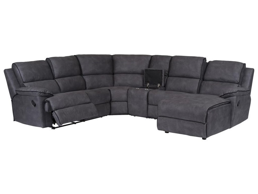 Neo Motion Manual Reclining Sectional by Standard Furniture at Dream Home  Interiors