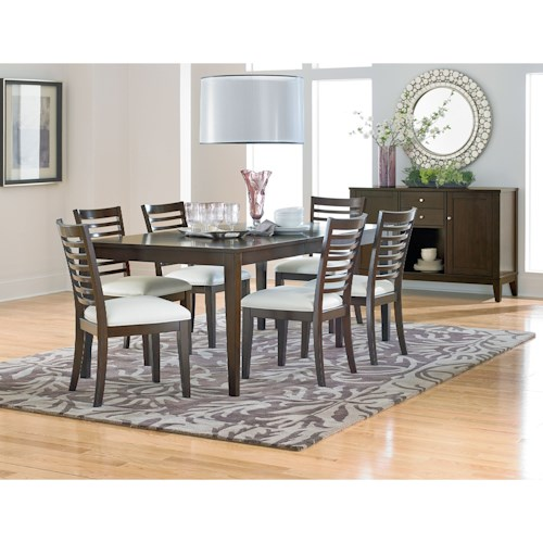 Standard Furniture Noveau Casual Dining Room Group