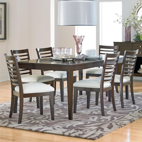 Standard Furniture Noveau Dining Table and Chair Set