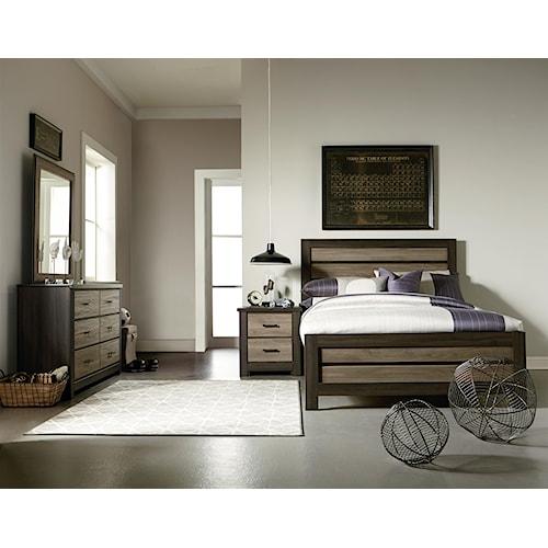Standard Furniture Oakland Full Bedroom Group