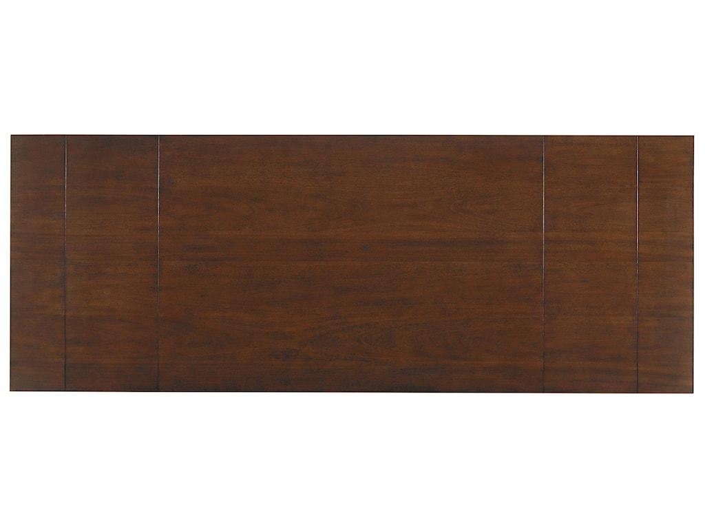 Standard Furniture Omaha BrownTrestle Table