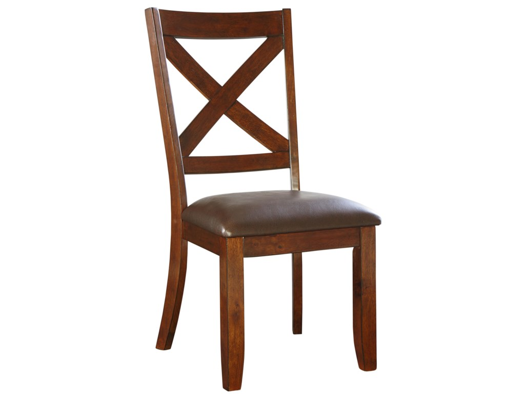 Standard Furniture Omaha BrownDining Side Chair