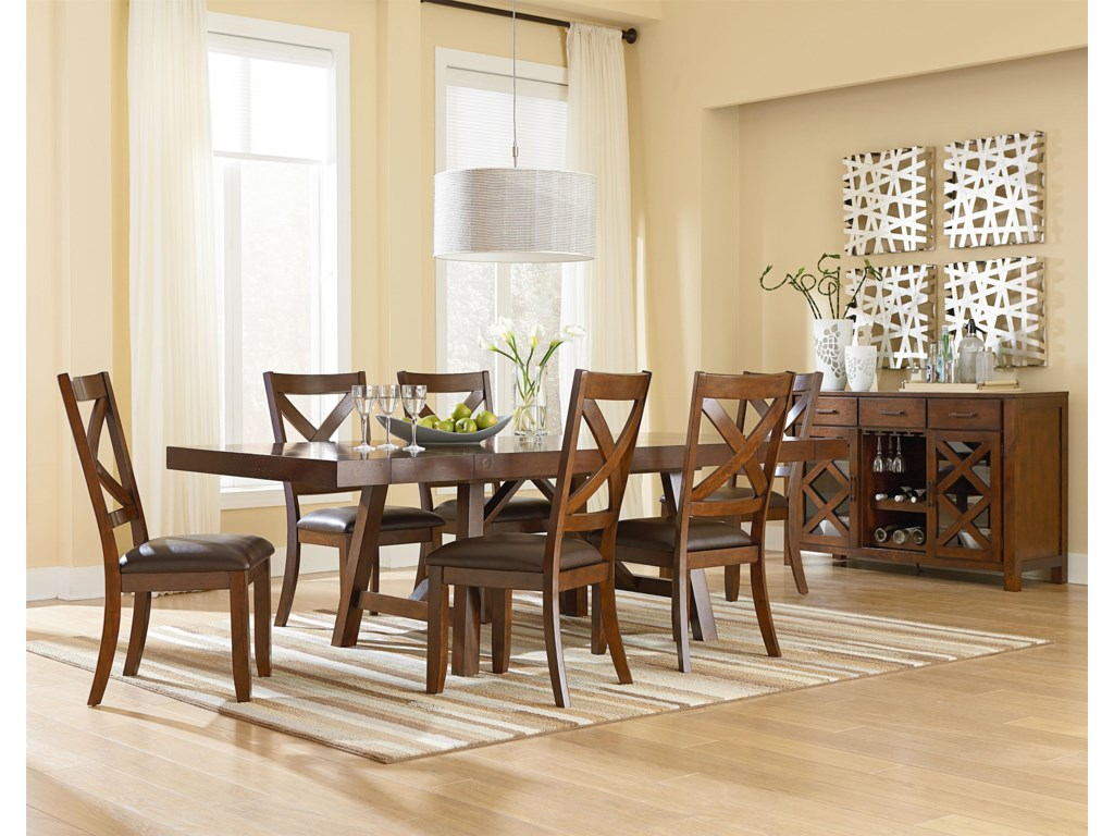 Omaha Brown Dining Side Chair