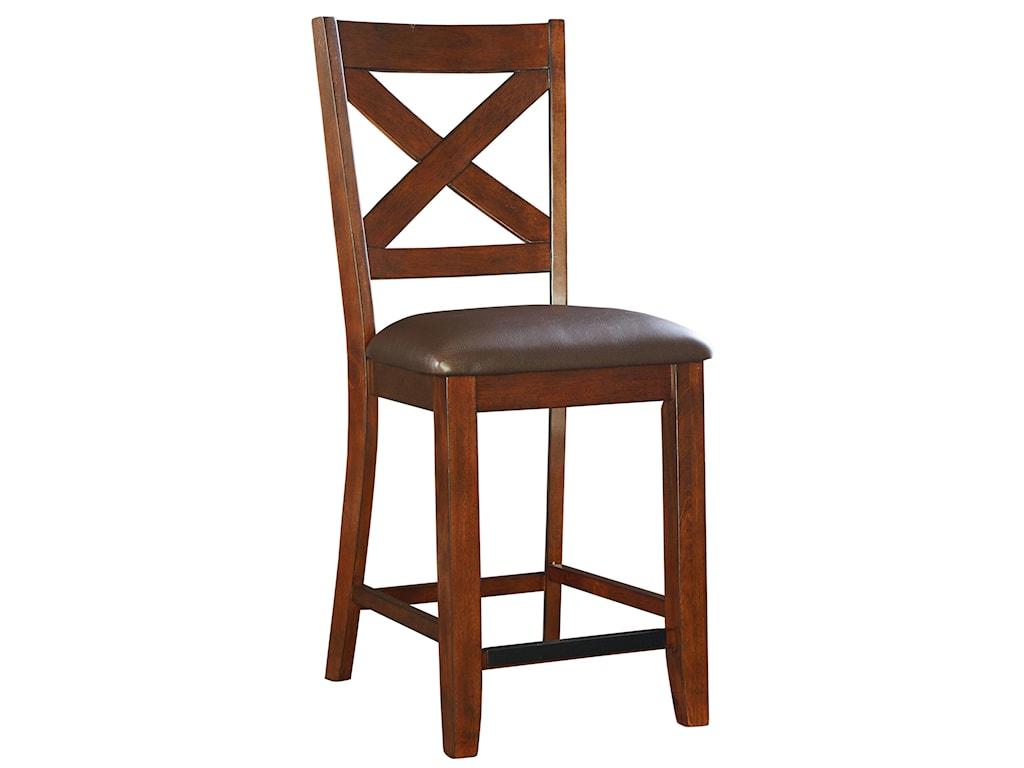 Standard Furniture Omaha BrownBar Stool