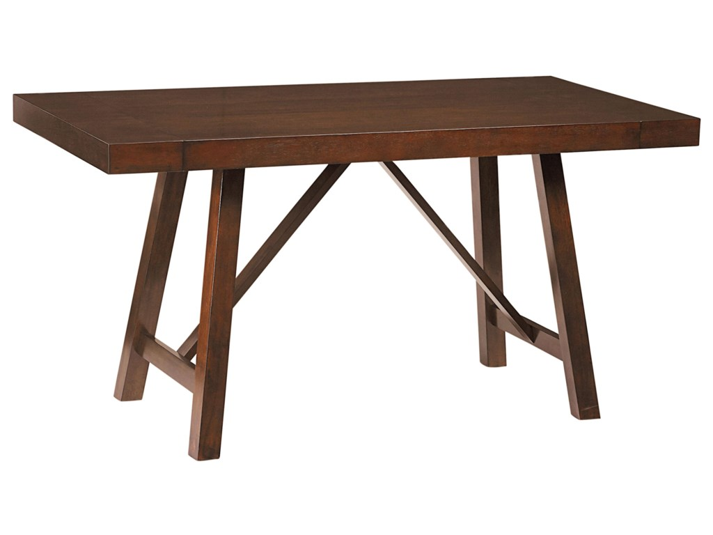 Standard Furniture Omaha BrownCounter Height Table