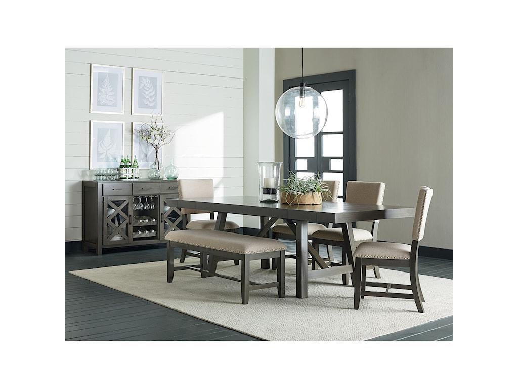 Standard Furniture Omaha GreyDining Bench