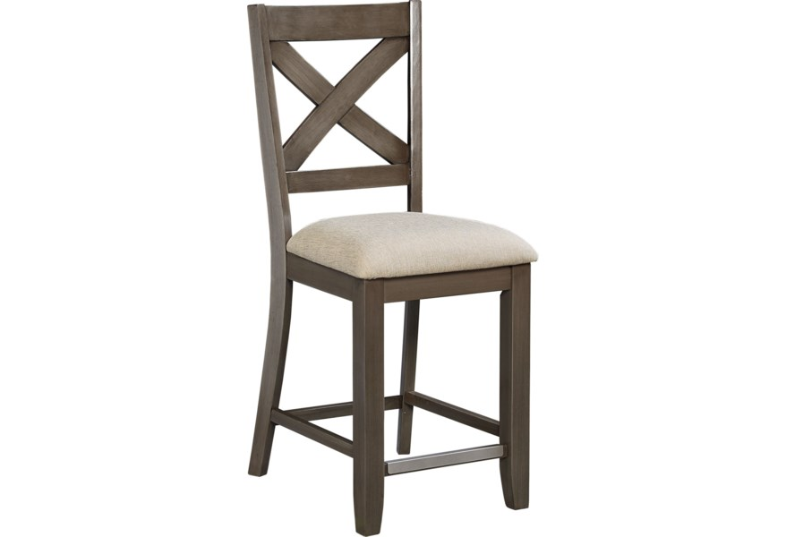 Pleasing Standard Furniture Omaha Grey Counter Height Bar Stool With Pabps2019 Chair Design Images Pabps2019Com