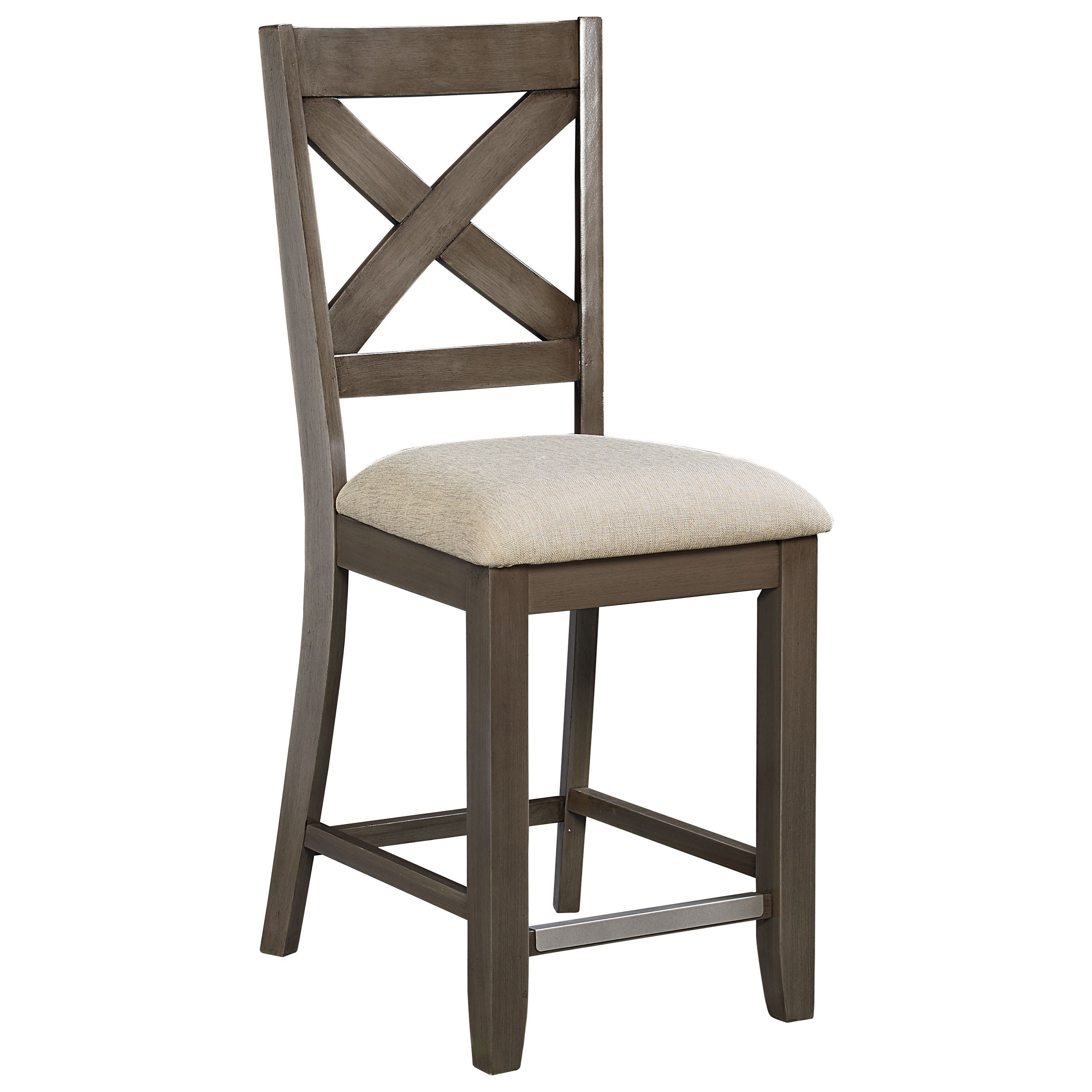 Standard Furniture Omaha GreyBar Stool ...