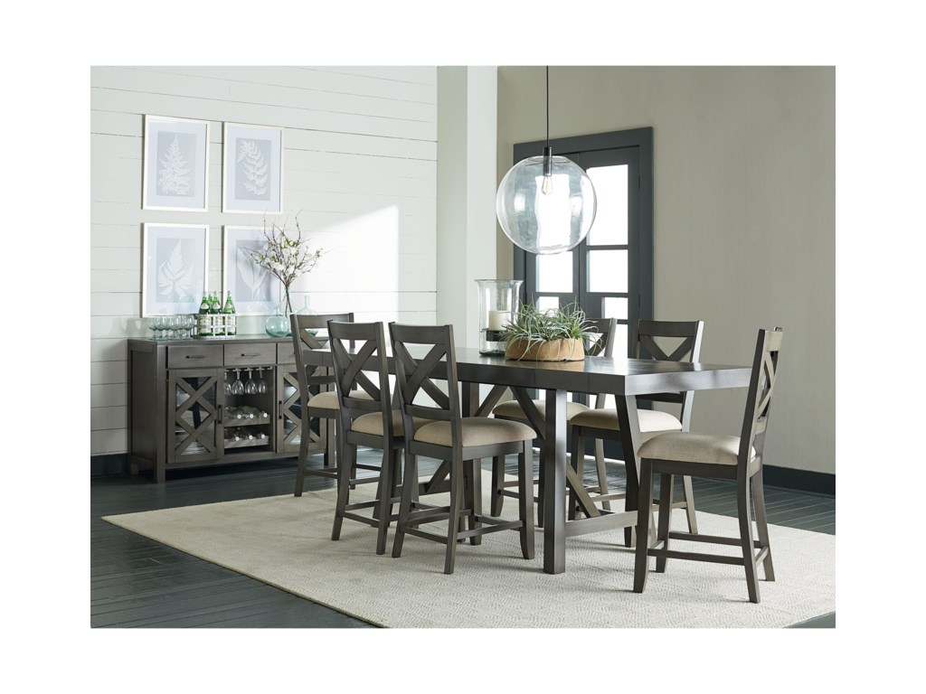 Standard Furniture Omaha GreyBar Stool