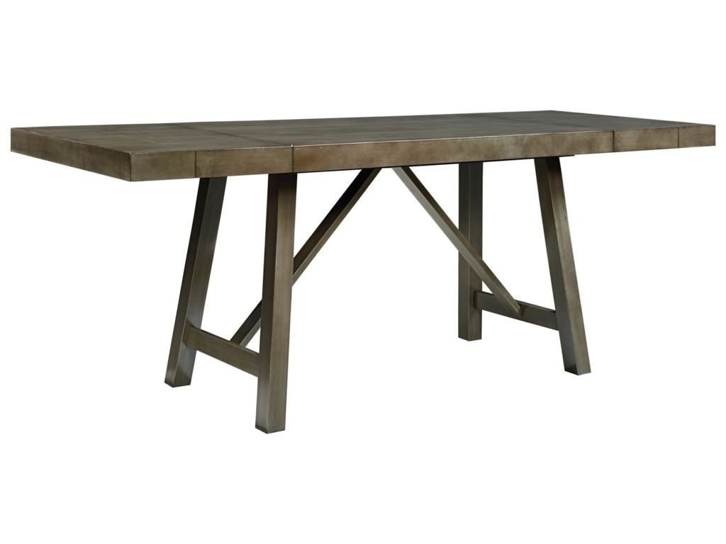 Standard Furniture Omaha GreyCounter Height Dining Room Table