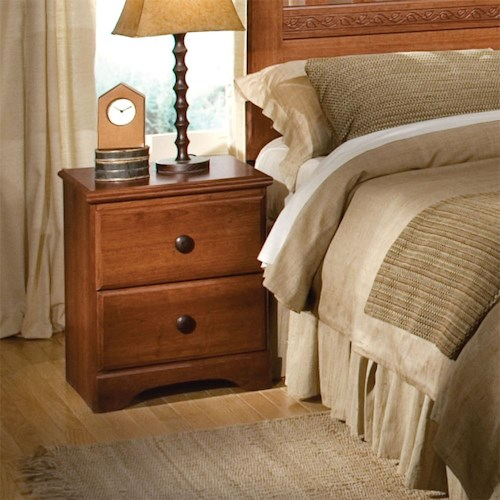 Standard Furniture Orchard Park 2-Drawer Night Stand