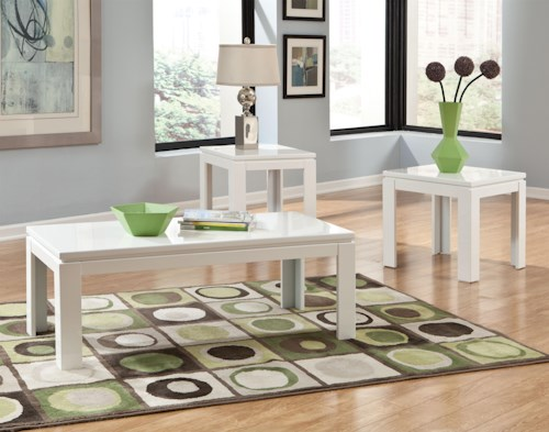 Standard Furniture Outlook 3-Pack Transitional Occasional Tables