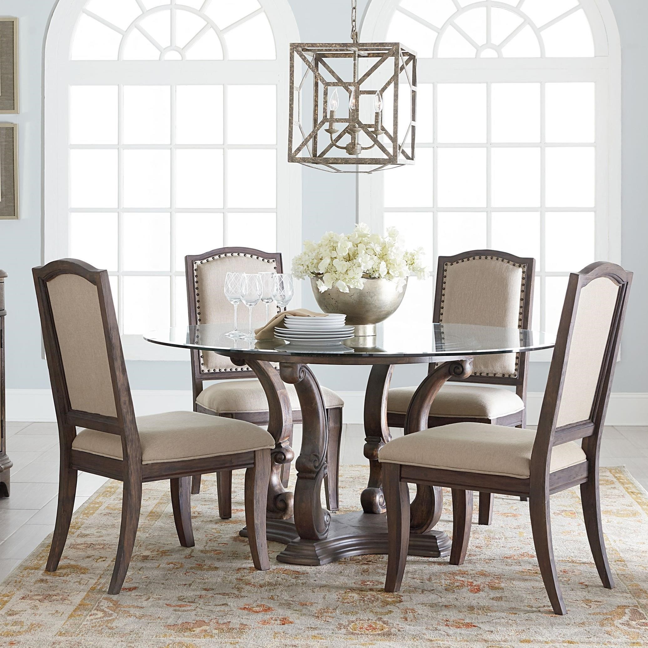 Standard Furniture Parliament Round Table and Chair Set - Dunk ...