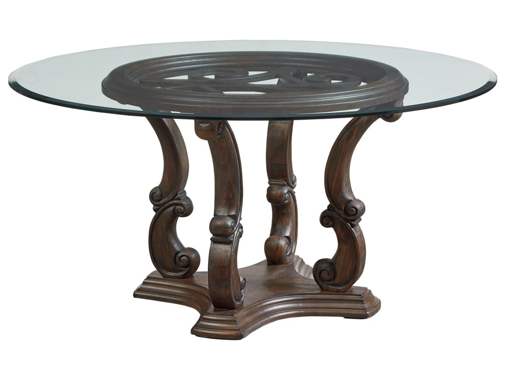 Standard Furniture Parliament Inch Round Dining Room Table Dunk - 60 inch round dining room table sets