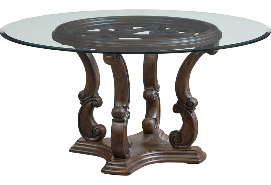 Standard Furniture Parliament 60 Inch Round Dining Room ...