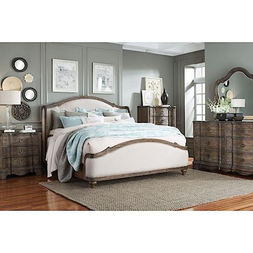 Standard Furniture Parliament Queen Bedroom Group