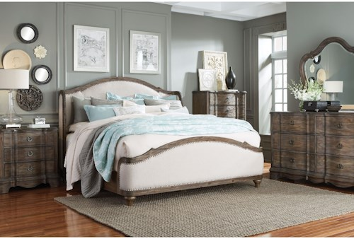 Standard Furniture Parliament Queen Bedroom Group