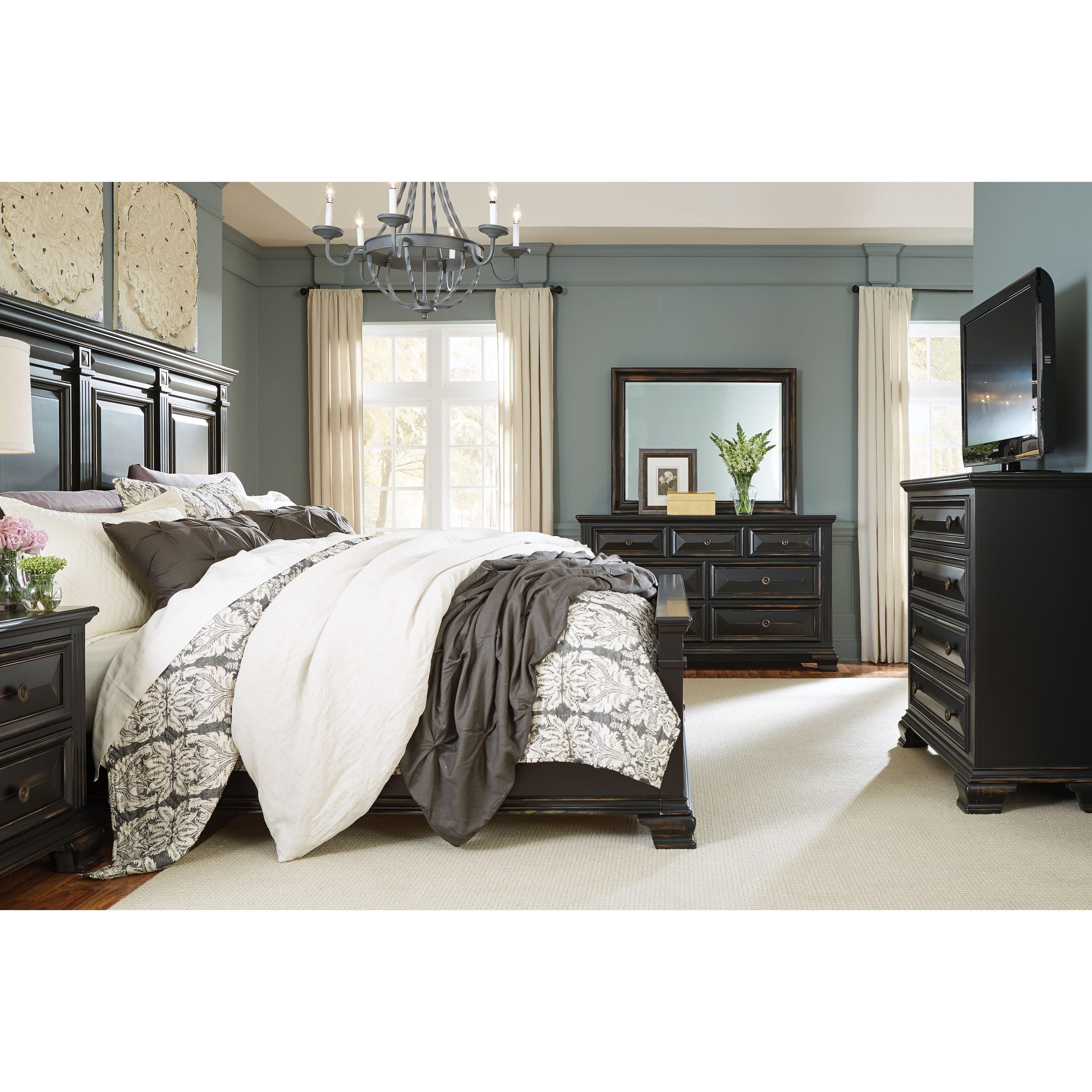 Beau Standard Furniture Passages King Bedroom Group