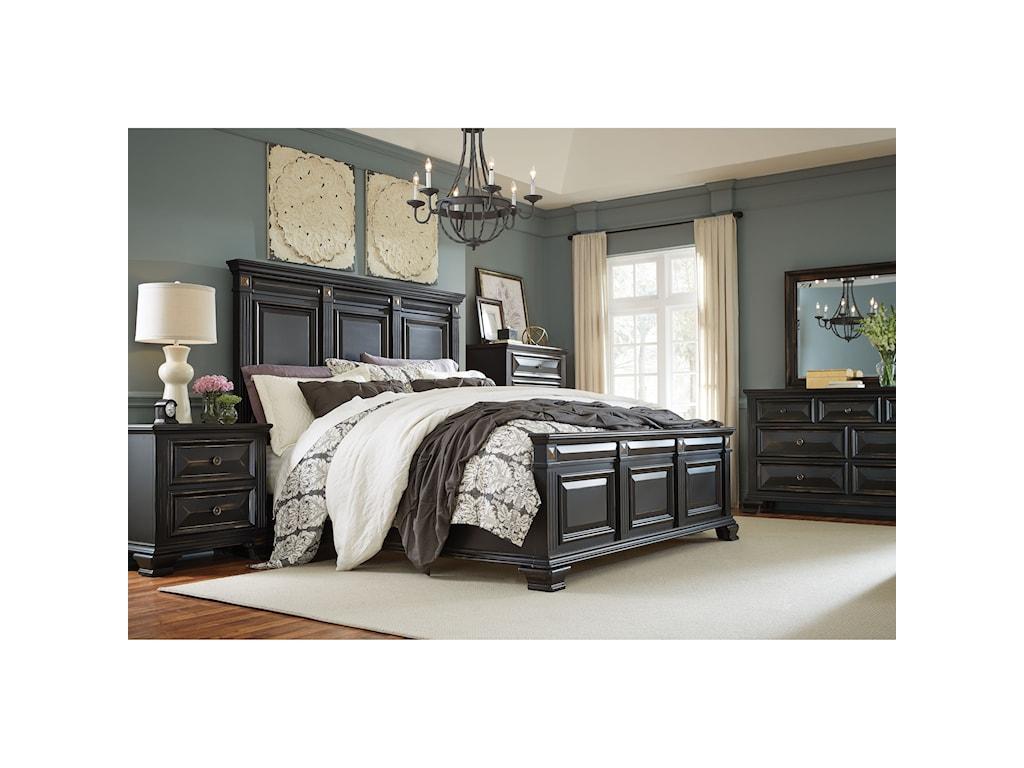 Standard Furniture PassagesQueen Panel Bed