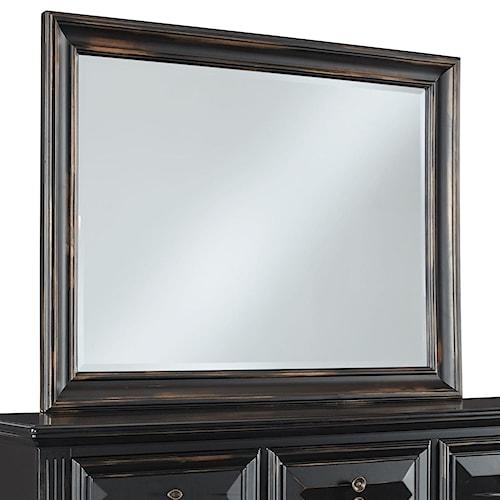 Standard Furniture Passages Regal Framed Mirror