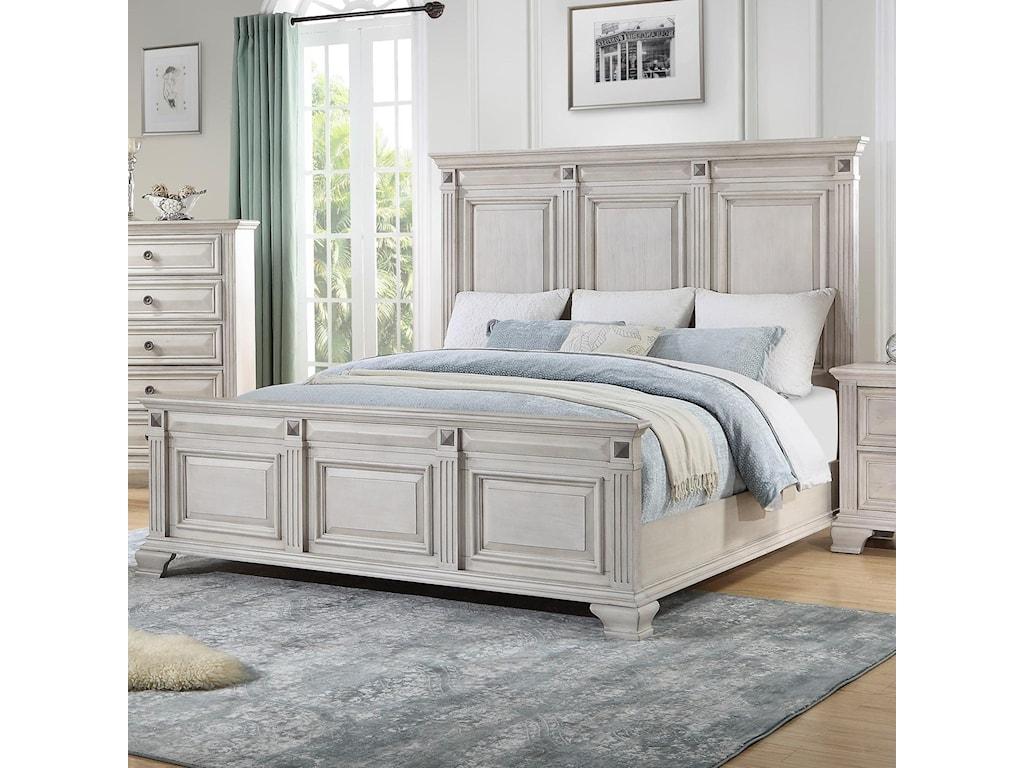Standard Furniture Passages LightKing Panel Bed