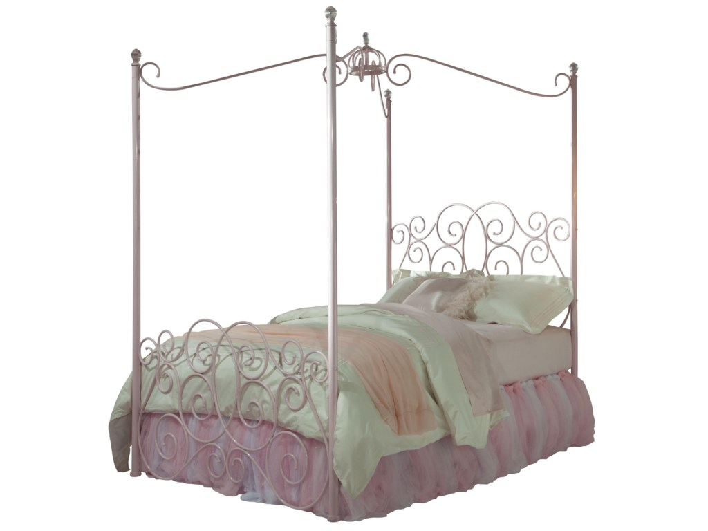 Standard Furniture Princess Canopy Bedsfull Metal Bed