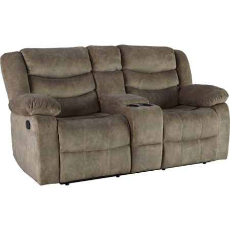 Manual Reclining Love Seat