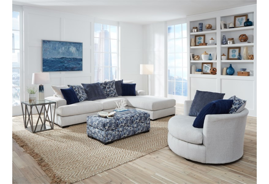 Standard Furniture Romano Contemporary Living Room Group ...
