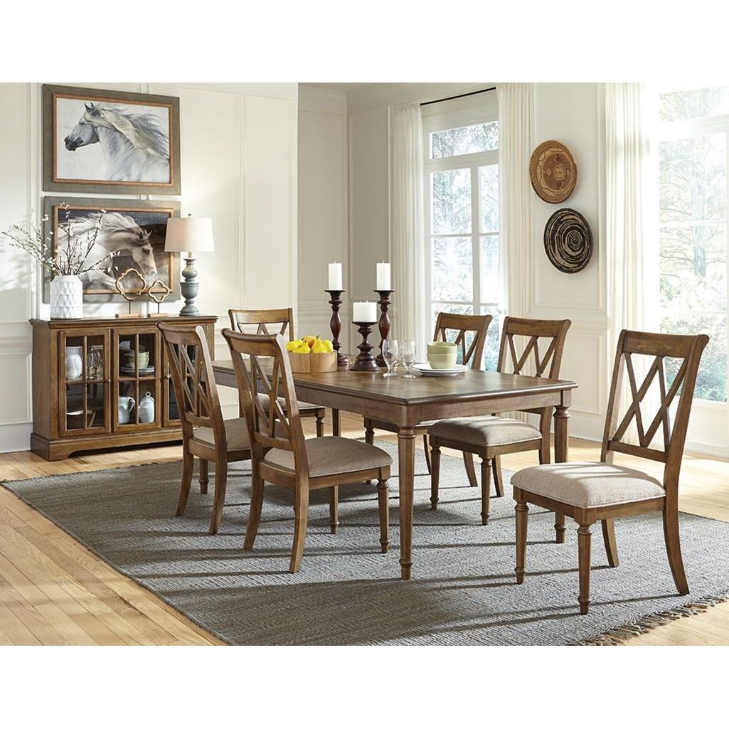 Standard Furniture Rossmore Formal Dining Room Group
