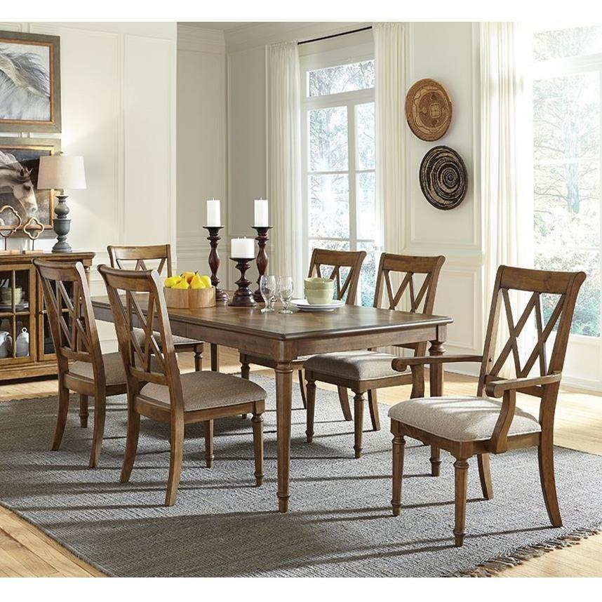 Standard Furniture Rossmore 7 Piece Rectangular Dining