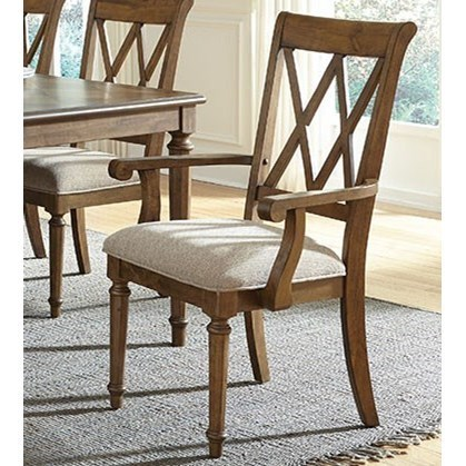 Exceptionnel Standard Furniture Rossmore Dining Arm Chair With X Back Design