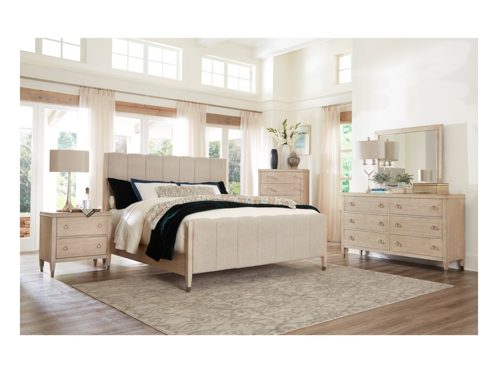 Standard Furniture SausalitoKing Upholstered Bed