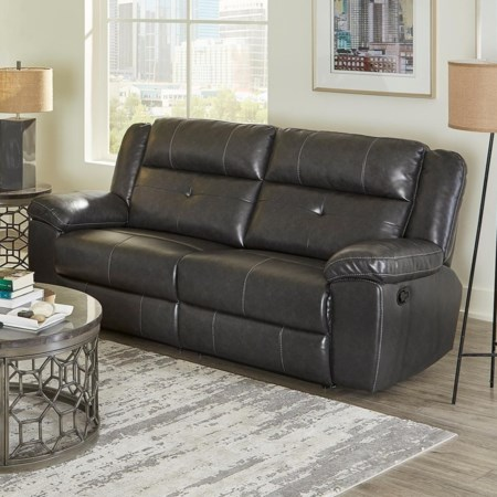 Manual Motion Reclining Sofa