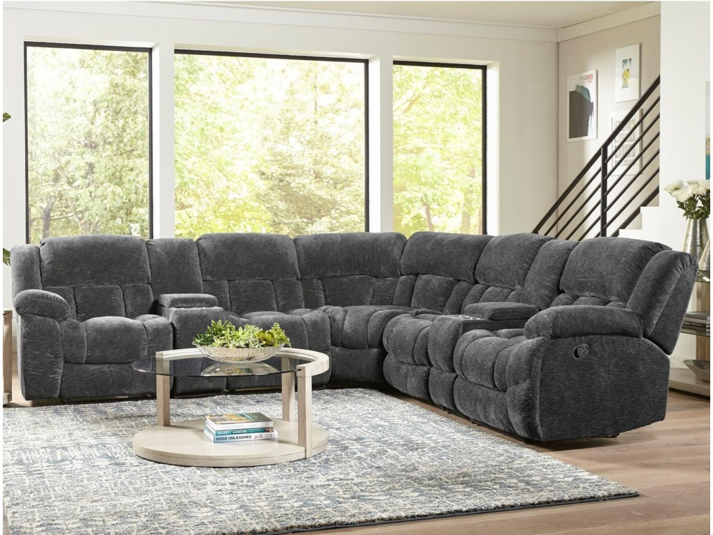 Standard Furniture Seymore Casual Seven Piece Power Reclining
