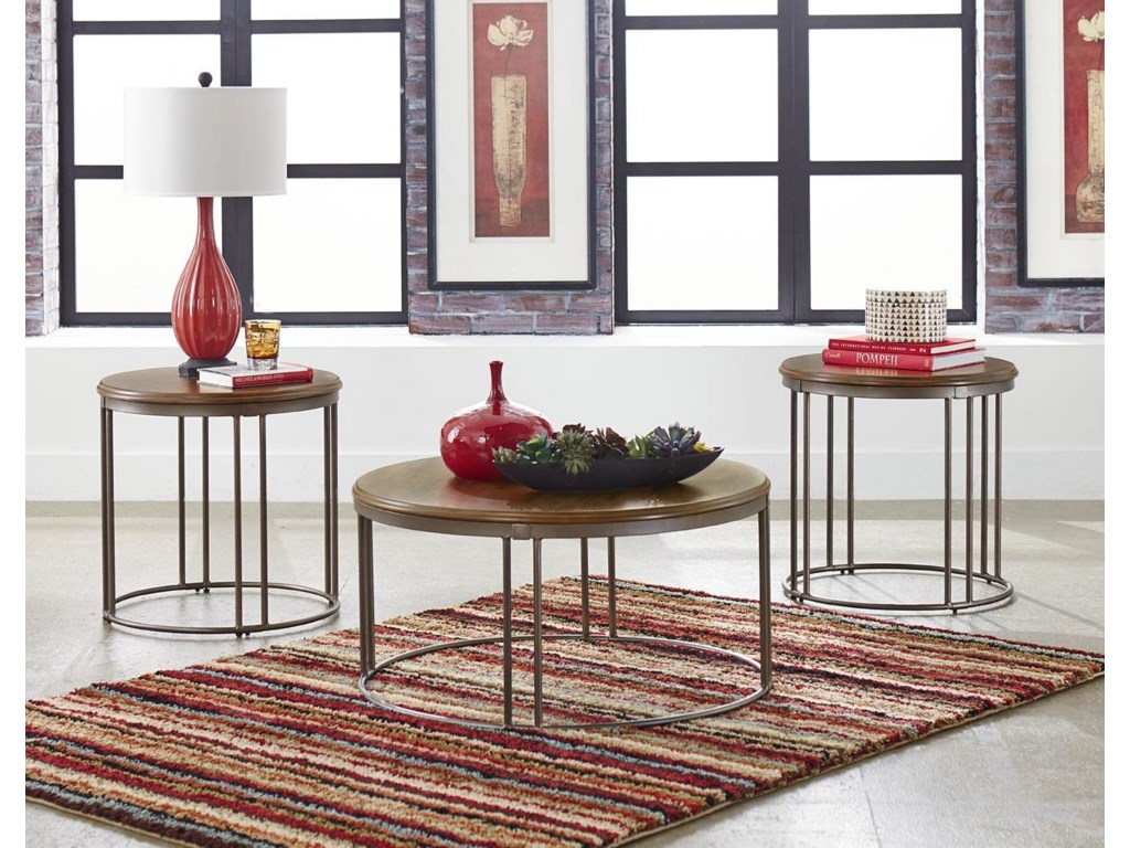 Standard Furniture Occasional TablesOslo 3 Pack of Occasional Tables