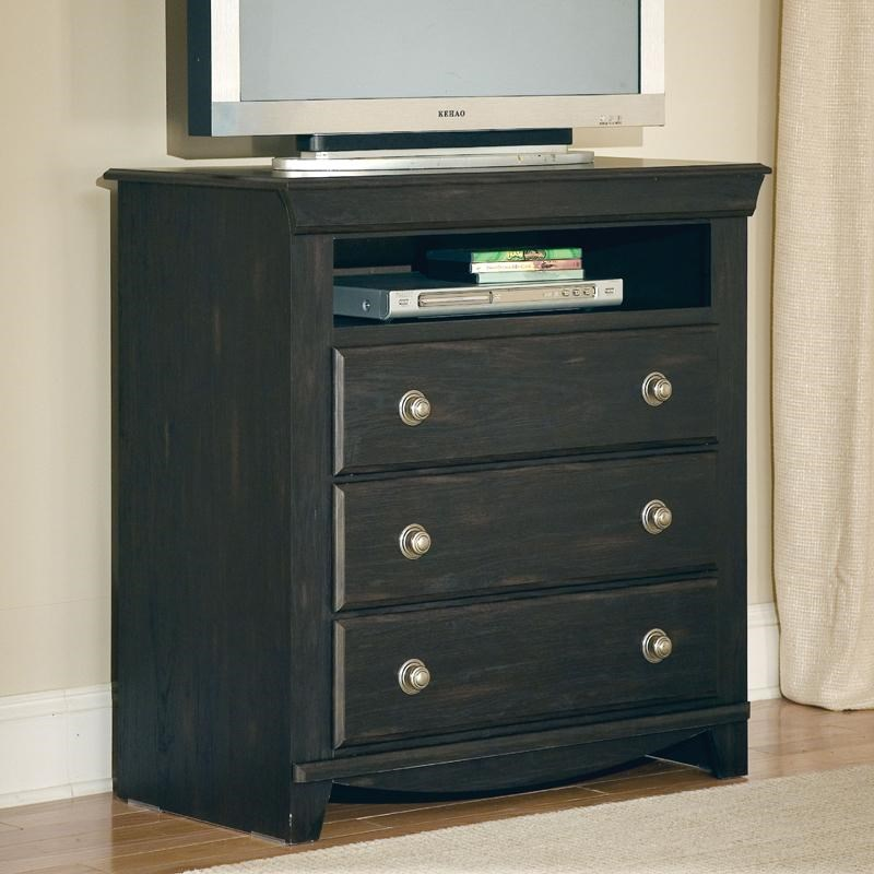 Standard Furniture Carlsbad 3 Drawer TV Chest With Open Shelf