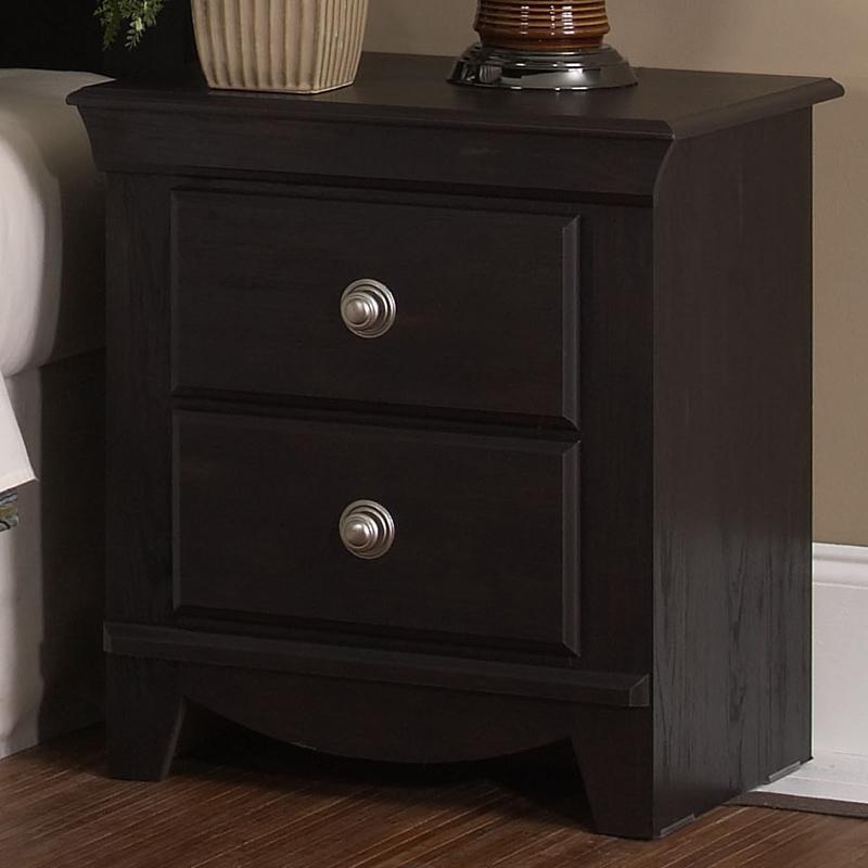 Standard Furniture Carlsbad 2 Drawer Nightstand