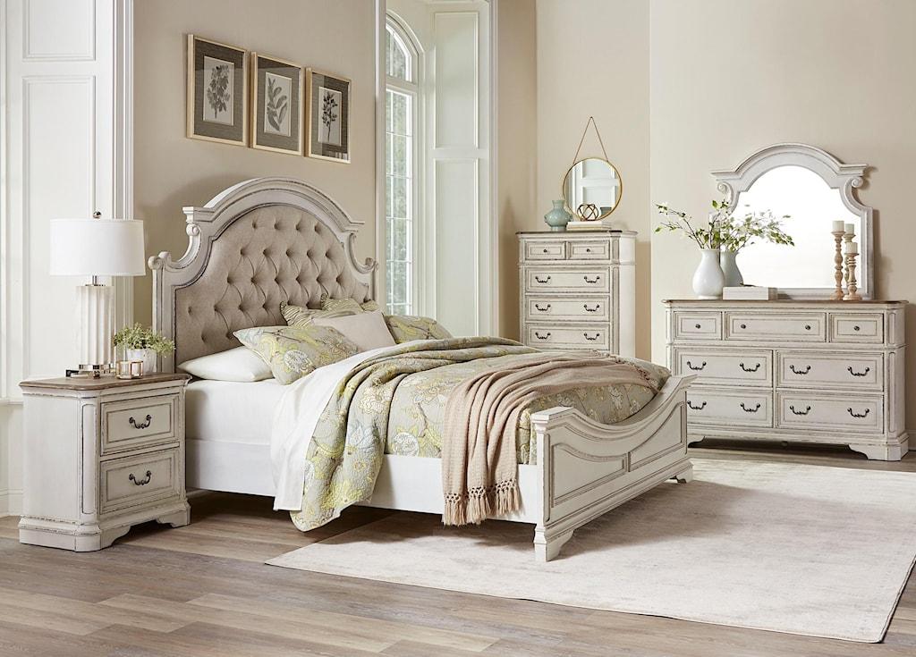 Standard furniture stevenson manorking 5 piece bedroom group