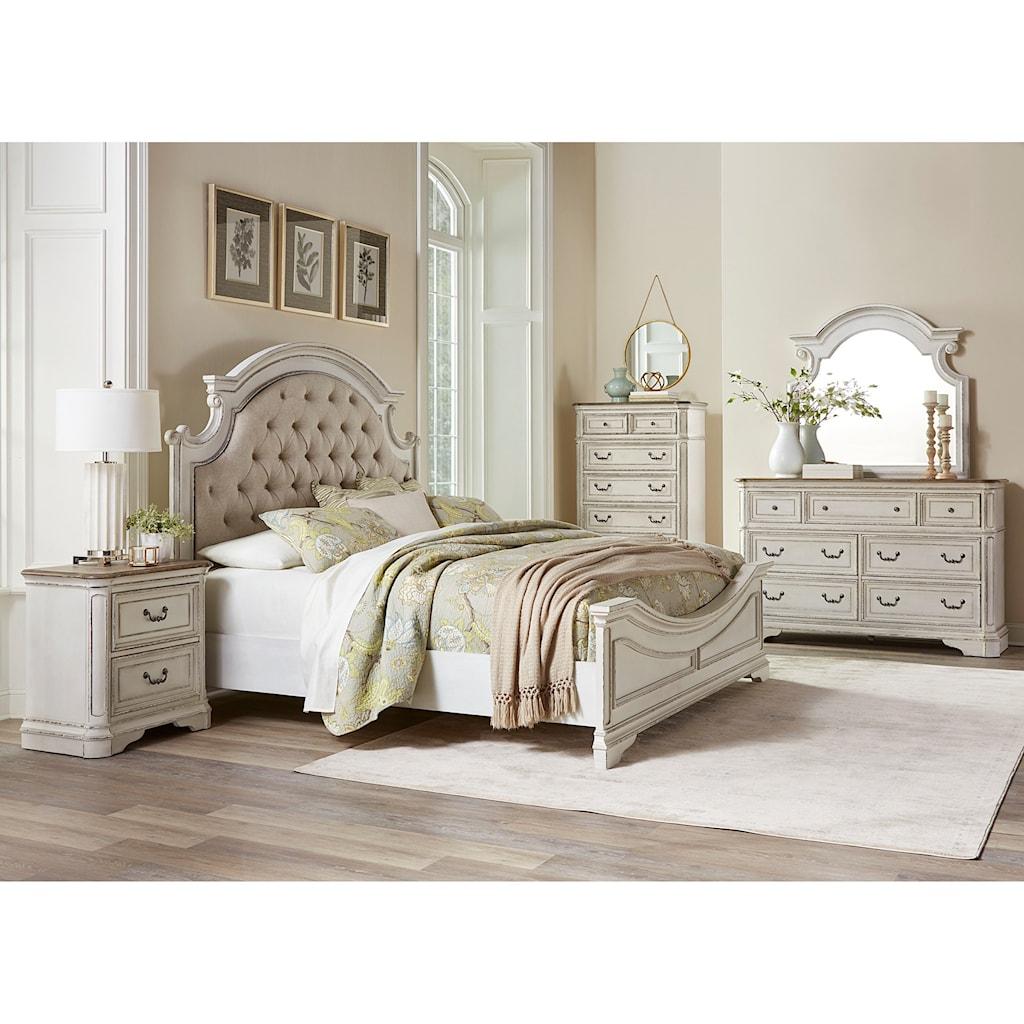 Standard furniture stevenson manor queen bedroom group