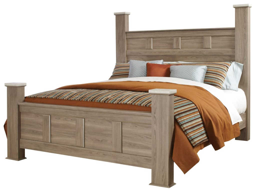 Standard Furniture StonehillQueen Poster Bed