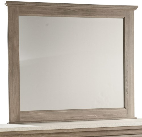 Casual landscape mirror stonehill by standard furniture for Landscaping rocks corpus christi