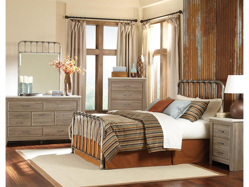 Standard Furniture StonehillMetal Mirror