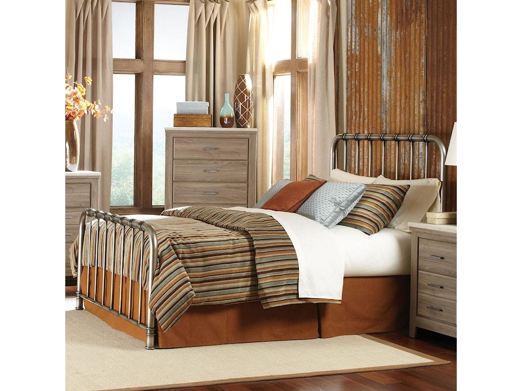Standard Furniture StonehillQueen Metal Bed
