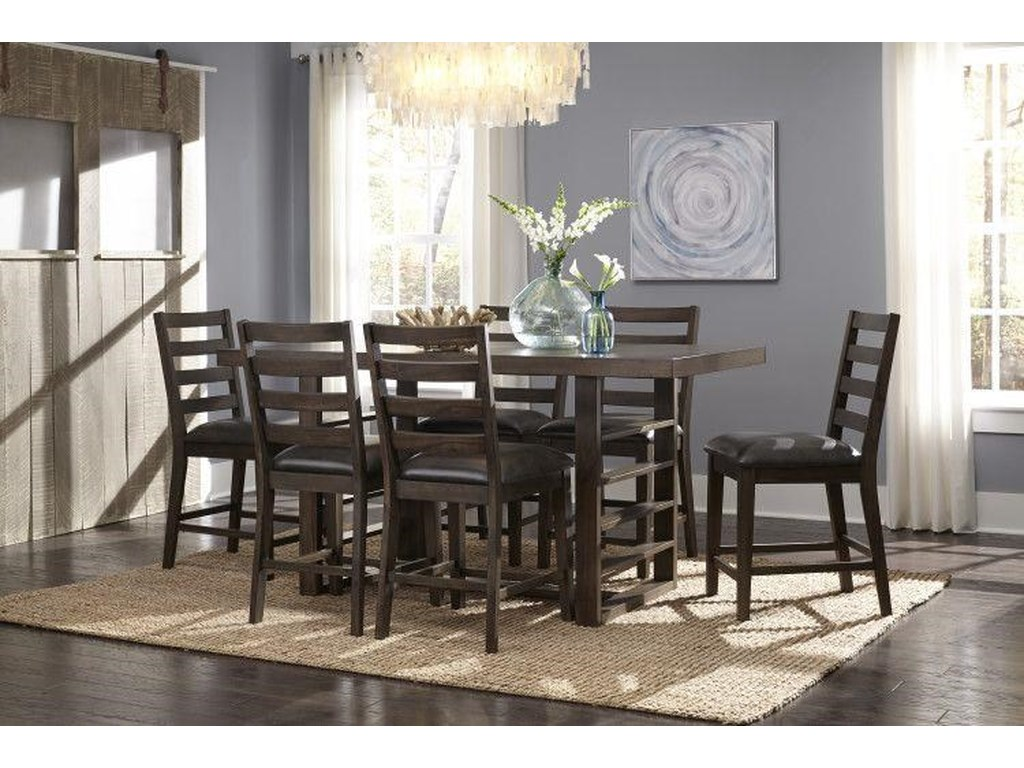 Standard Furniture SummerlinCounter Dining Table and 6 Chairs