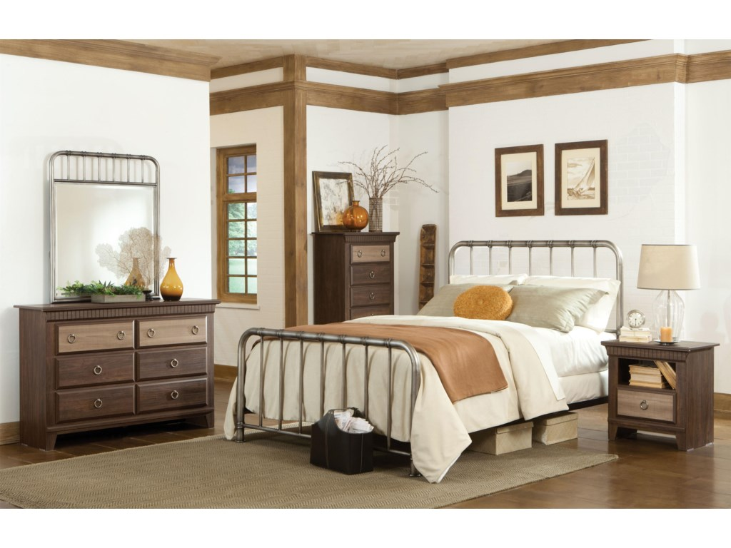 Standard Furniture TristenQueen Metal Bed