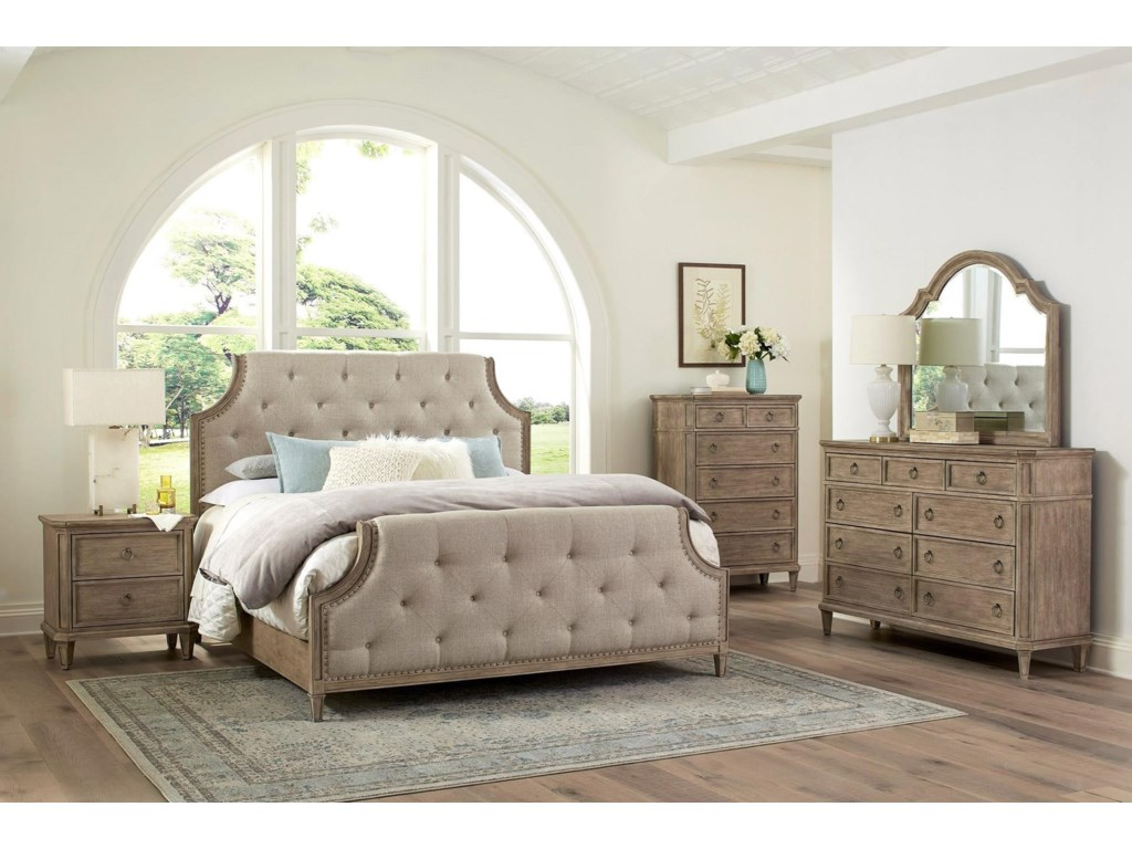 Standard Furniture TuscanyKing Bedroom Group