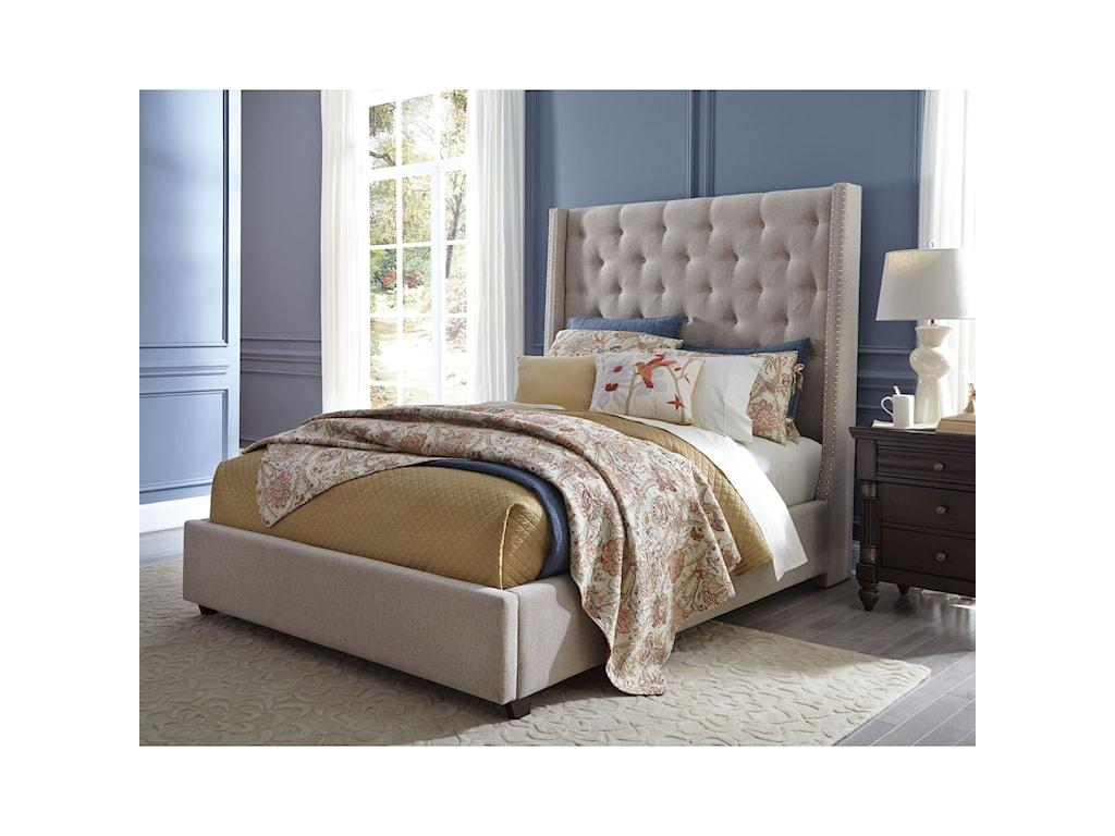 Standard Furniture ViningsKing Upholstered Bed