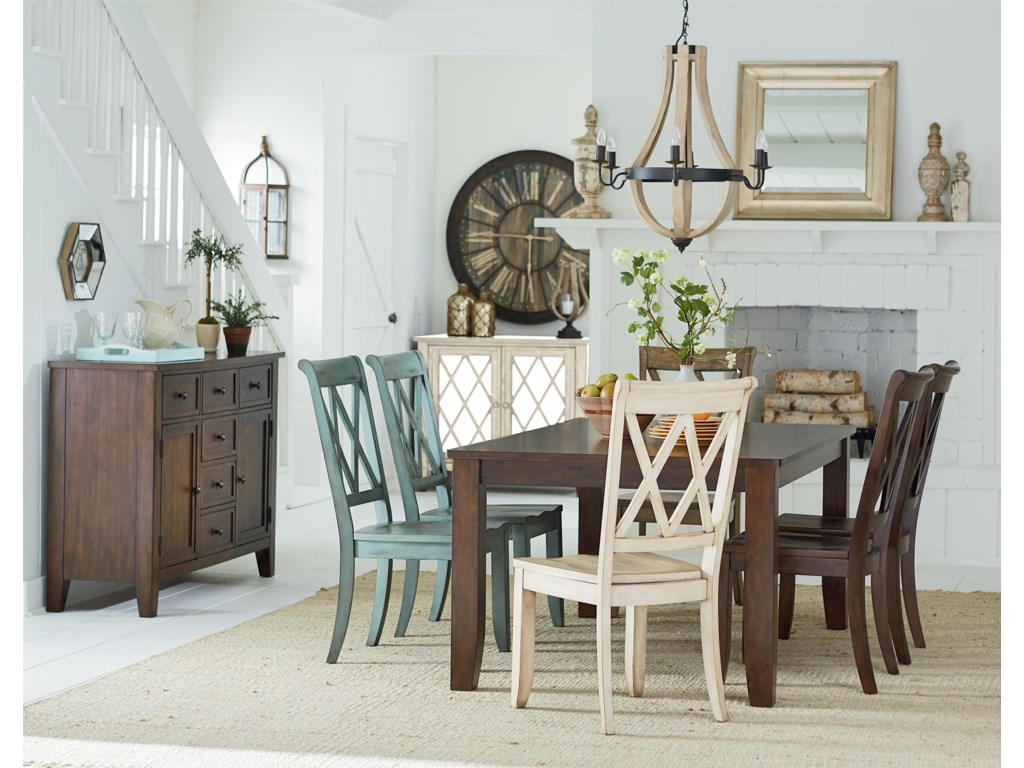 Standard Furniture VintageTable and Chair Set