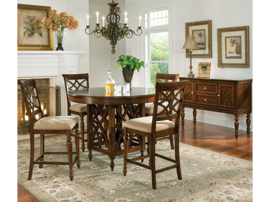 Standard Furniture WoodmontRound Counter Height Table