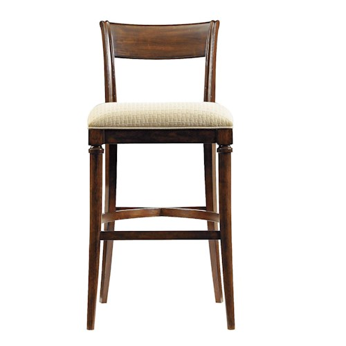 Stanley Furniture Avalon Heights Tempo Low Back Bar Stool